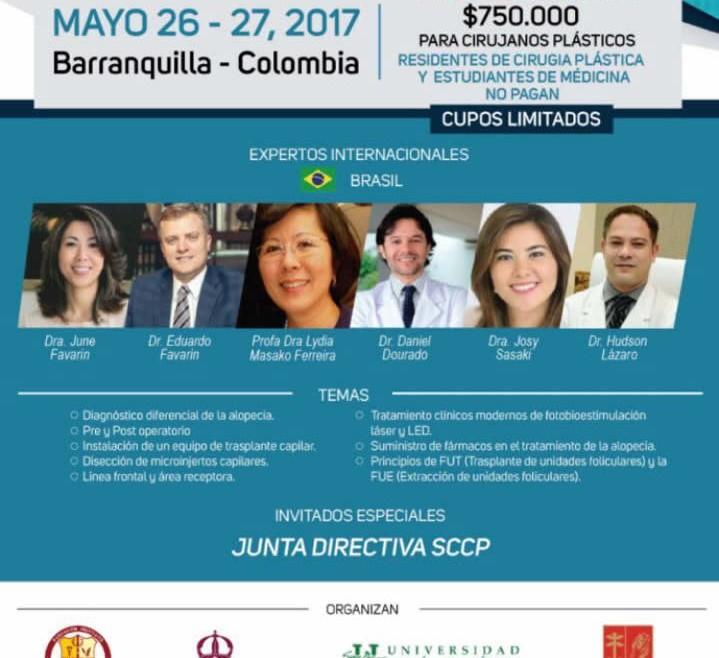 Profissionais do IMCAP ministrarão palestra em congresso na Colômbia