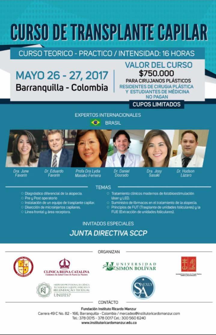curso de transplante capilar no brasil