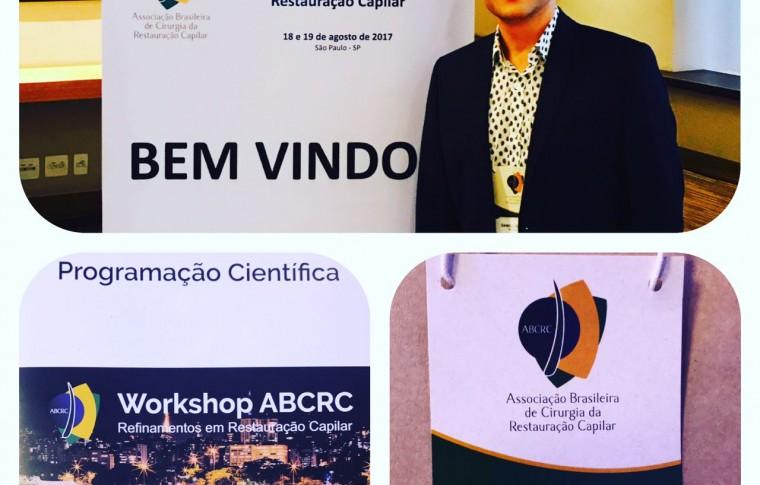 Dr. Daniel Dourado de Belo Horizonte participa de Workshop sobre Transplante Capilar