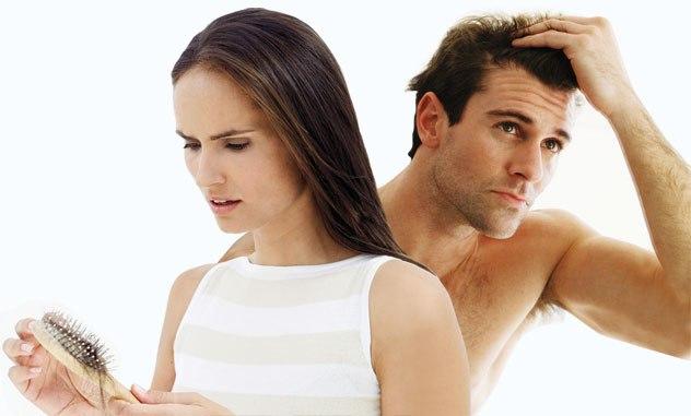 queda ou perda de cabelo
