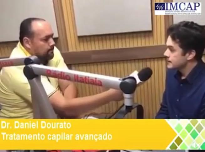 Dr. Daniel Dourado da IMCAP de Belo Horizonte concede entrevista e fala sobre calvície