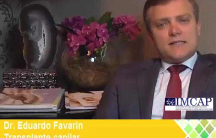 Dr. Eduardo Favarin da IMCAP Criciúma fala sobre os avanços no Transplante Capilar com a Técnica FUE