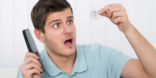 preocupação com queda de cabelos