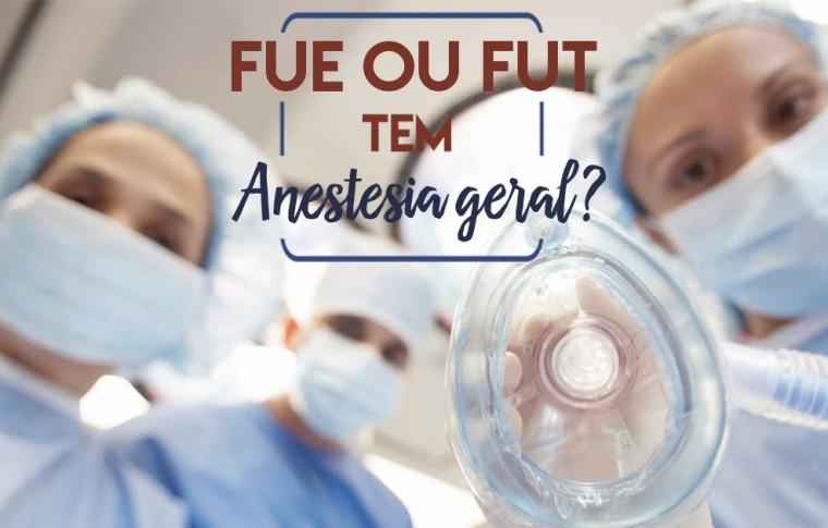 A cirurgia de transplante capilar precisa de anestesia geral?