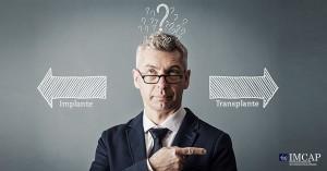 diferença do transplante para o implante capilar