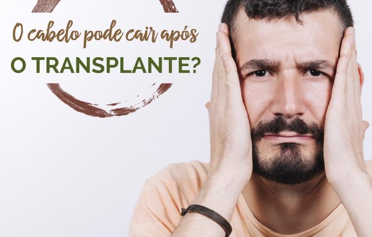 O cabelo pode voltar a cair após o transplante capilar?
