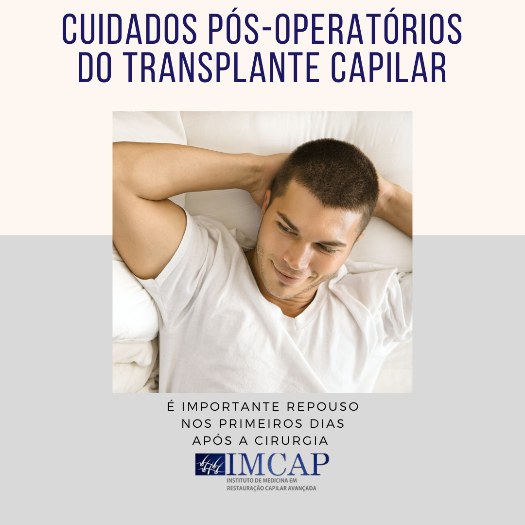Cuidados pós-operatórios do transplante capilar