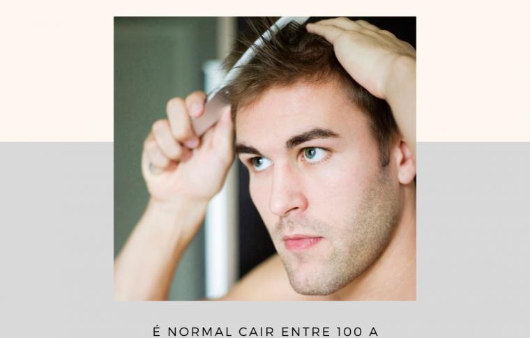 Quantos fios de cabelo caem por dia?