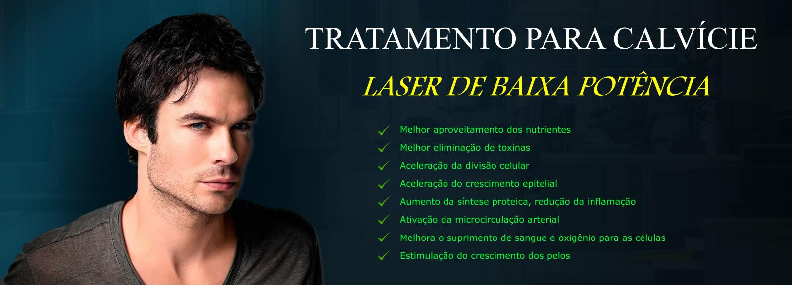 laser de baixa potencia para tratamento de calvicie